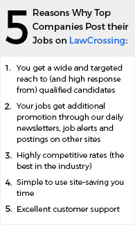 Reasons why Top Companies Post Their jobs on LawCrossing