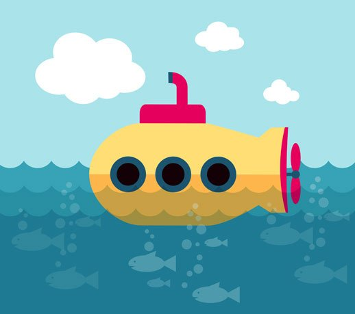 Are You Kidding? A Personal Submarine!