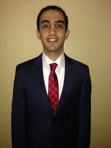 Third Year Law Student Ali Elachkar