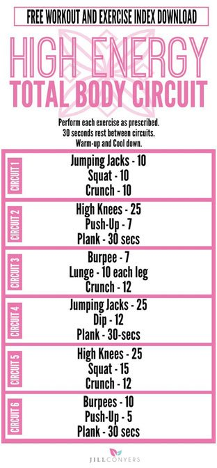 10 Total Body Workouts You Can Do in 30 Minutes Or Less