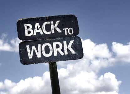 How can you come back to work after taking a break from the practice of law?