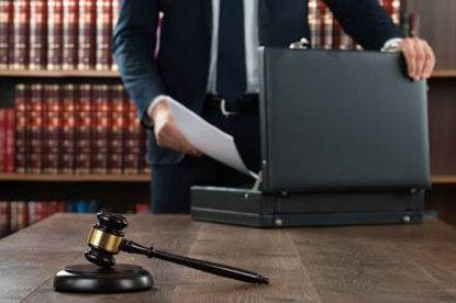 A criminal lawyer provides representation for people accused of various crimes.
