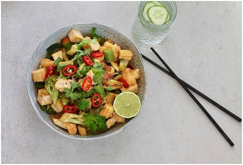 Try Red Coconut Curry Stir Fry and these 15 other meat-free dinner recipes for your next meat-free Monday.