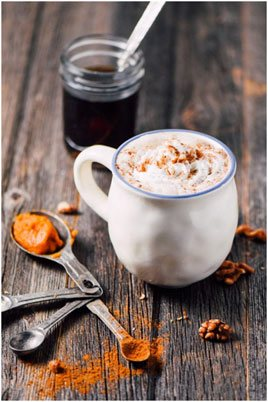 A Chamomile and lavender latte is one of the many other delicious drinks that could help you sleep at night.