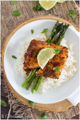 Try incorporating fish into your weekly meals for added health benefits, including lower cholesterol.