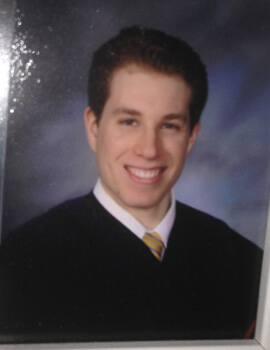 Recent Law School Graduate Jedidiah Bernstein