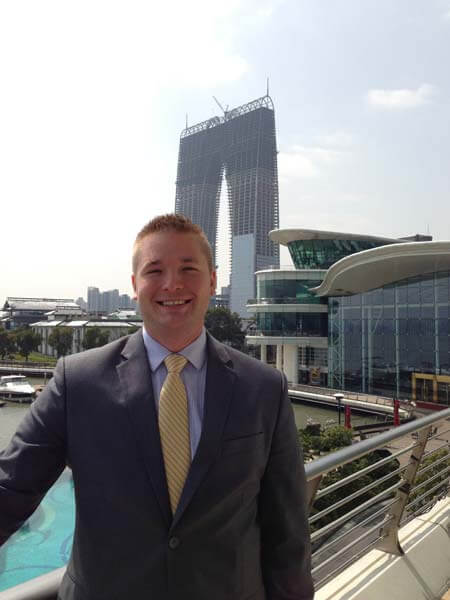 Third Year Law Student Jeff Rasanen