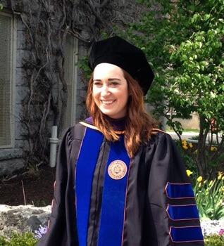 Recent Graduate Krystal Weigl