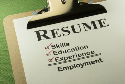 Professional Resume Format for Paralegals