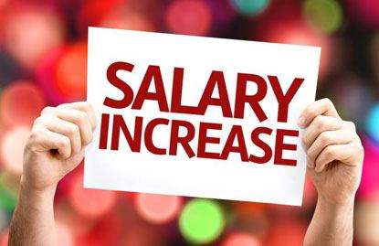 Salaries on the rise
