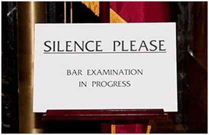 Here's what you need to know before you take the bar exam.
