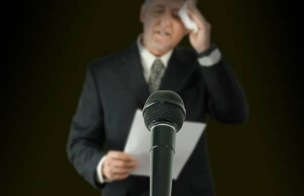 Afraid of public speaking? Use these tips to help overcome this fear.