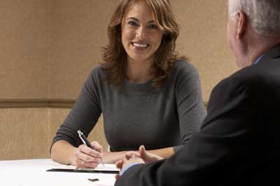 conducting a behavioral interview