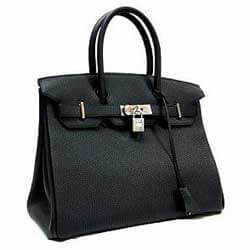 Hermes Birkin Bag in Black