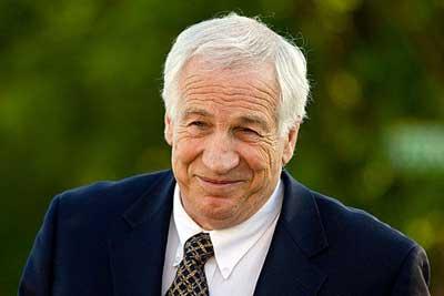 Former Penn State football coach Jerry Sandusky