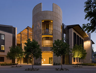 The William H. Neukom Building at Stanford Law School