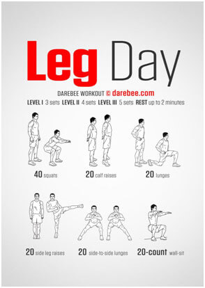 Try these 8 intense lower body workouts.