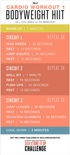 Try these workouts you can do from anywhere that require no equipment.